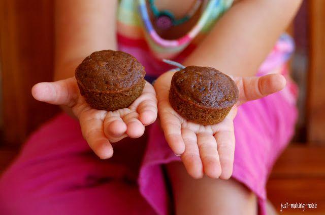 just-making-noise: Carrot Molasses Mini Muffins (Gluten-free!)