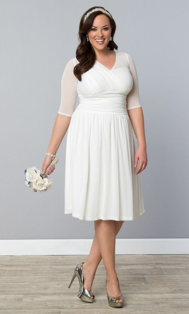 28 best Plus Size Reception Dresses images on Pinterest | Short ...