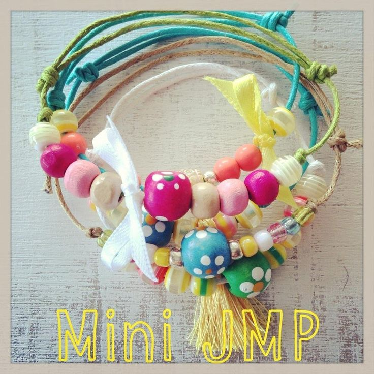 Colour, beads, ribbons and a creative mind!