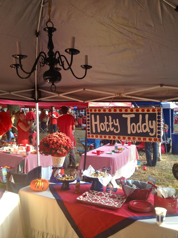 #OleMiss #HottyToddy #Tent #Cute #Tailgating & 387 best College Football u0026 Tailgating images on Pinterest ...