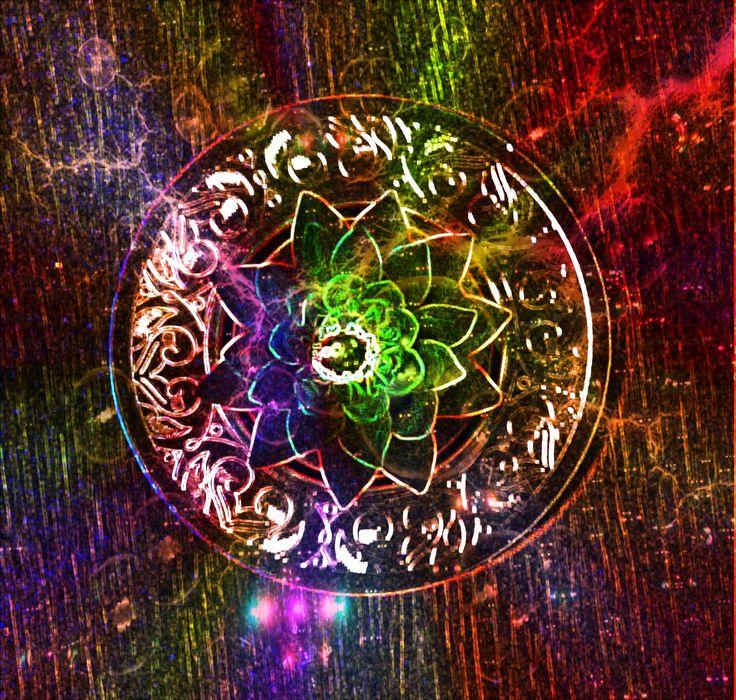 Mandala in space