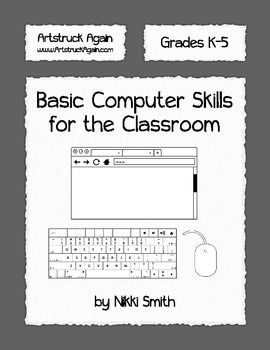 Help your students master basic computer skills in a digital world. Technology is becoming fully integrated into educational curriculum, these activities will build the foundation. Learn the components of a web browser, mouse, and keyboard (and keyboard shortcuts). *NOW BOTH MAC AND PC KEYBOARDS!National Educational Technology Standards for Students (NETS-S)6.