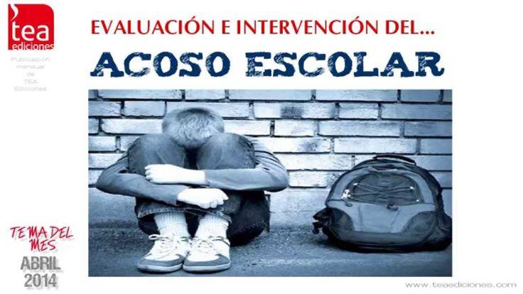 Vídeo que recoge el material que tenemos disponible para la Evaluación e Intervención en Acoso escolar o Bullying. Puedes descargarte el PDF en: http://web.teaediciones.com/TemasDelMes/Acoso_escolar.pdf