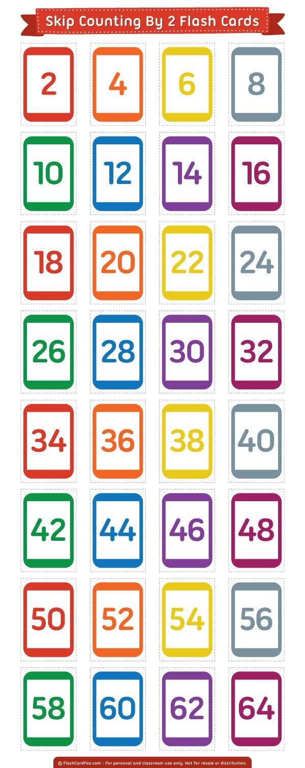 worksheet Math Flash Cards Printable 132 best flash cards at flashcardfox com images on pinterest free printable skip counting by 2 download them in pdf format http