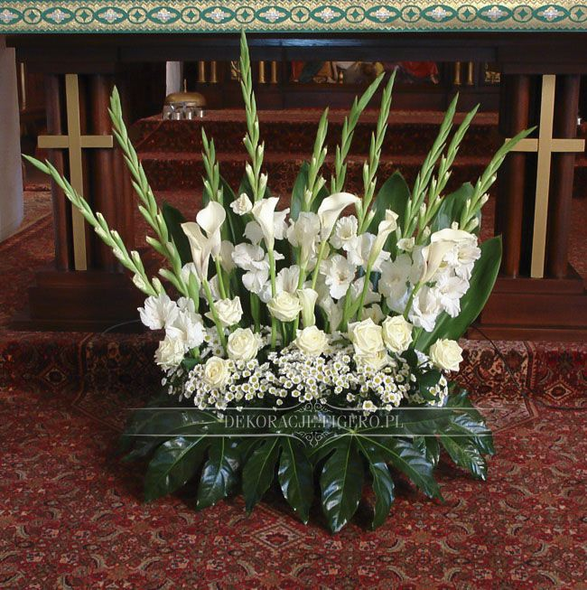 22 Pictures Wedding Altar Decorations: 732 Best Images About Arranjos De Gladiolos On Pinterest