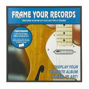 "Record Album Frame - Black (12x12"")"