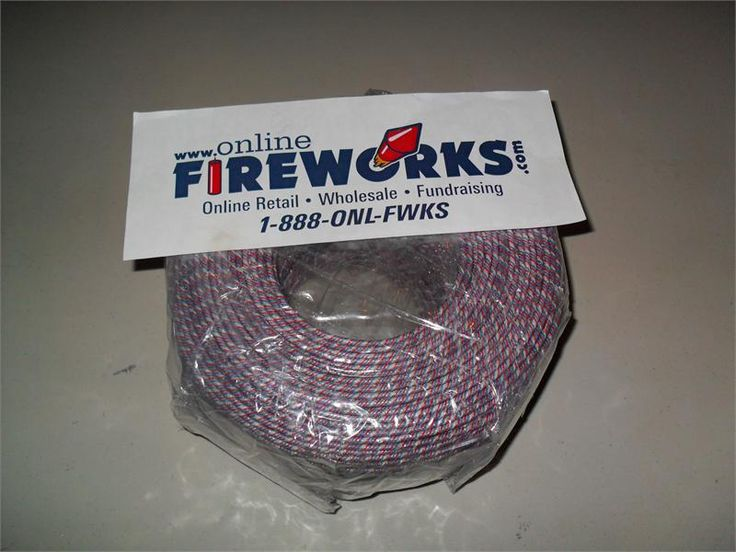 fireworks fuse, cannon fuse, safety fuse, buy full line of dozens of fuses online at www.Onlinefireworks.com