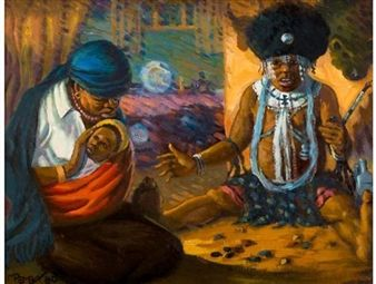Traditional Healer By George Pemba ,1980