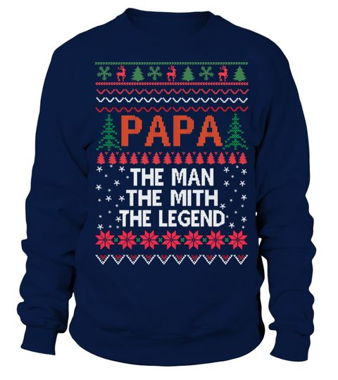 """# Papa The Man Christmas Sweaters .  100% Printed In The USA - Ship Worldwide!Guaranteed safe and secure checkout via: Paypal 