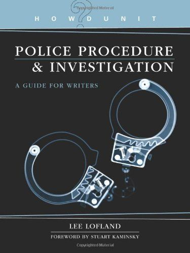 Police Procedure & Investigation: A Guide for Writers (Howdunit) by Lee Lofland http://www.amazon.com/dp/1582974551/ref=cm_sw_r_pi_dp_H-1mub1NQE7RP