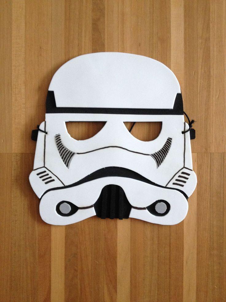 star wars maske aus moosgummi kinder bastelideen f r. Black Bedroom Furniture Sets. Home Design Ideas
