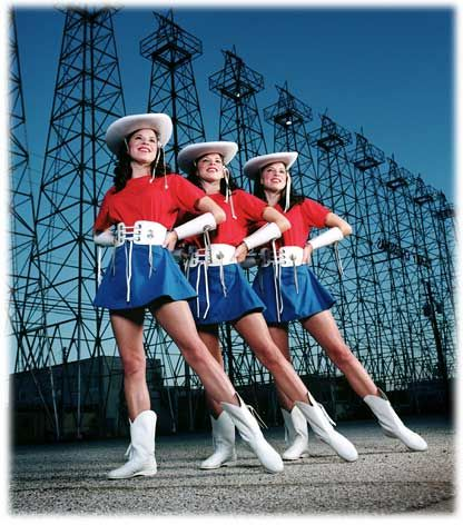 Kilgore Rangerettes ~ Famous Drill Team ~ Kilgore, where my first daughter was born..We lived 2 blocks from the Rangerette Hall