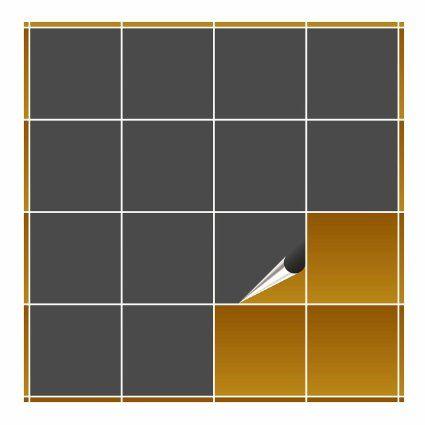 FoLIESEN 1515WG080 Fliesenaufkleber mit Fliesenfolie und Fliesen überkleben, 15 x 15 cm, 80 Stück, weiß glänzend: Amazon.de: Küche & Haushalt