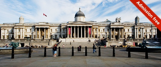 The National Gallery London - Art from the 13th to 19th Centuries.