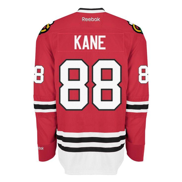 Chicago Blackhawks Mens Patrick Kane Red Home Premier Jersey by Reebok #Chicago #Blackhawks #ChicagoBlackhawks #Kane #Kaner #PatrickKane