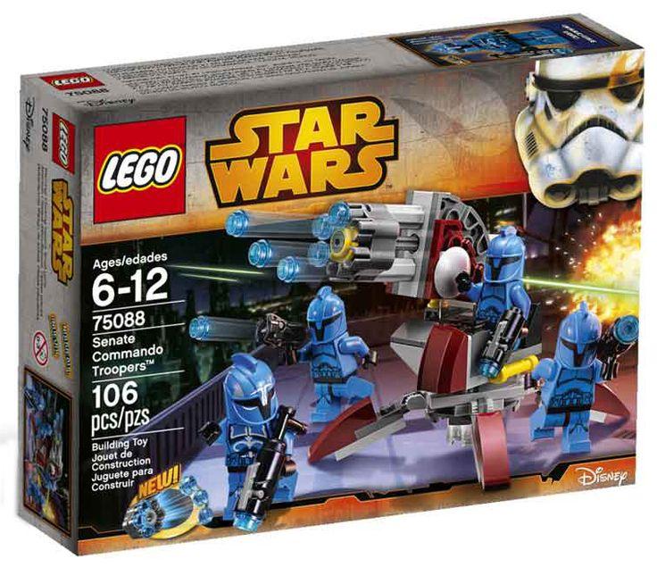 Comparez les prix du LEGO Star Wars 75088 Le commando du sénat avant de l'acheter ! Infos, description, images, vidéos et notices du LEGO 75088 Le commando du sénat sur Avenue de la brique