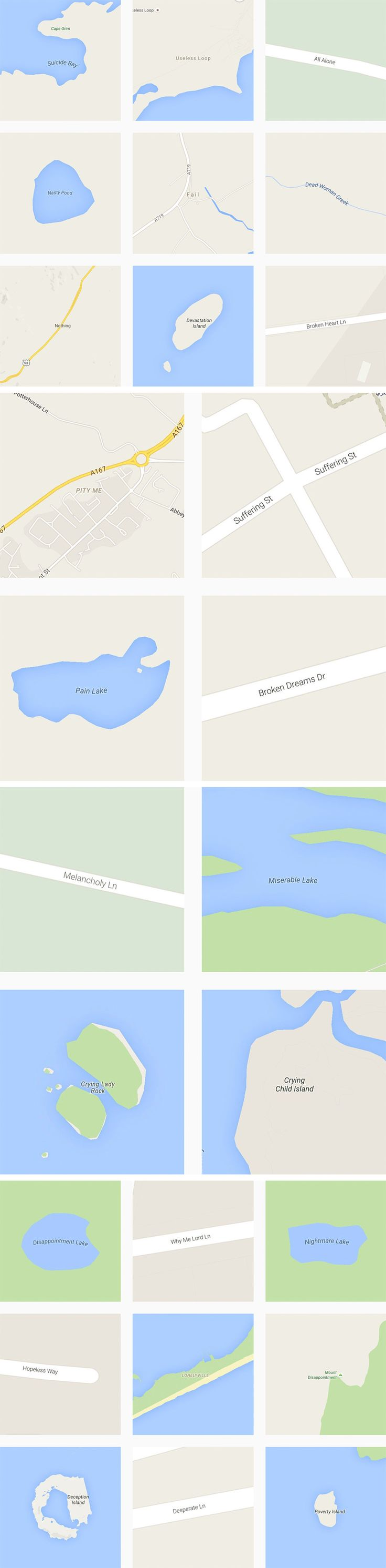 Archiving the World's Saddest Destinations Via Google Maps