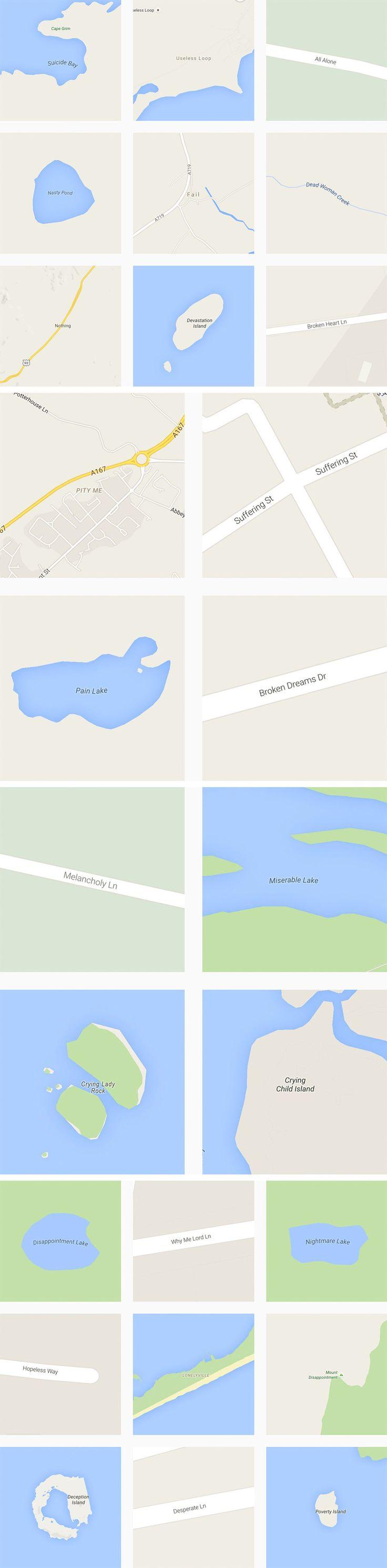 Archiving the World's Saddest Destinations Via Google Maps