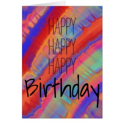 Happy happy birthday card - birthday cards invitations party diy personalize customize celebration