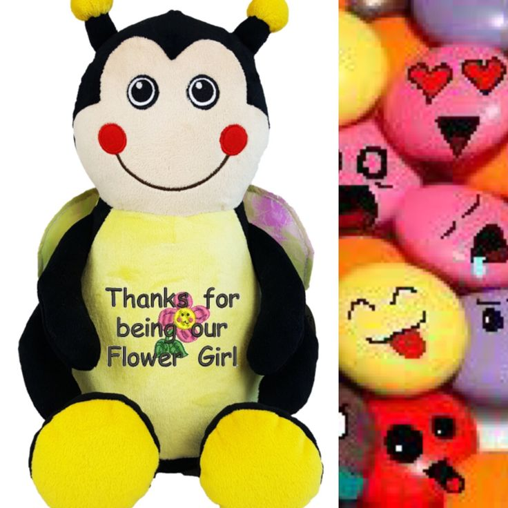 Smiling so bright and always for you  http://teddybearsandgifts.com.au/personalised-message-bear-bee-hug-me-cubby/