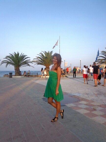 Evening walk~Paralia