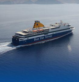 Blue Star Ferries- Traveling between Greek Islands