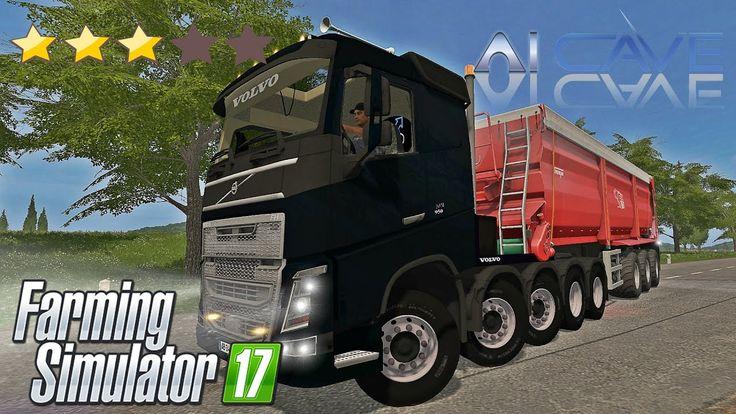 Farming Simulator 2017 Truck Mods - Volvo FH950 10x10 FUNMOD