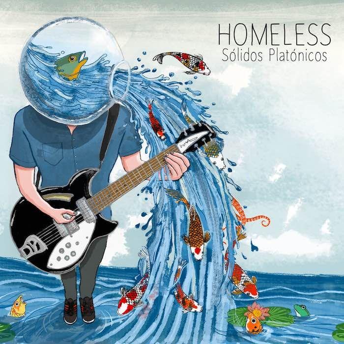 Homeless: Sólidos Platónicos - cover artwork