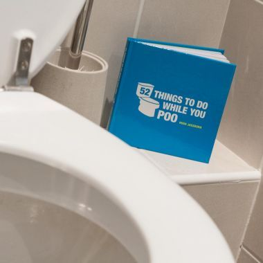 RED5 Books - 52 Things To Do While You Poo