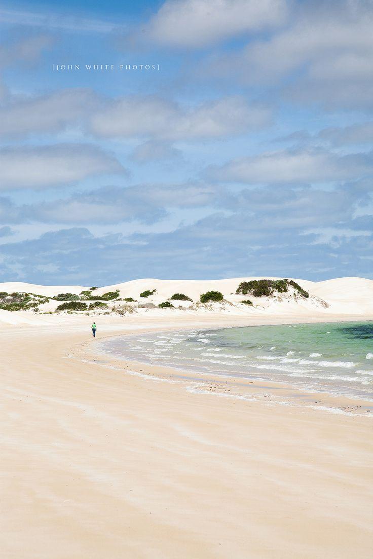 Coffin Bay National Park on de Eyre Peninsula in South Australia