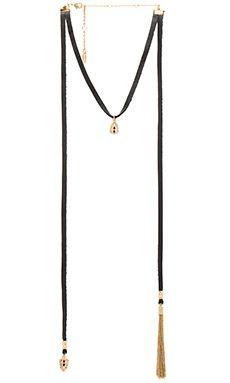 Ettika Choker Necklace in Black