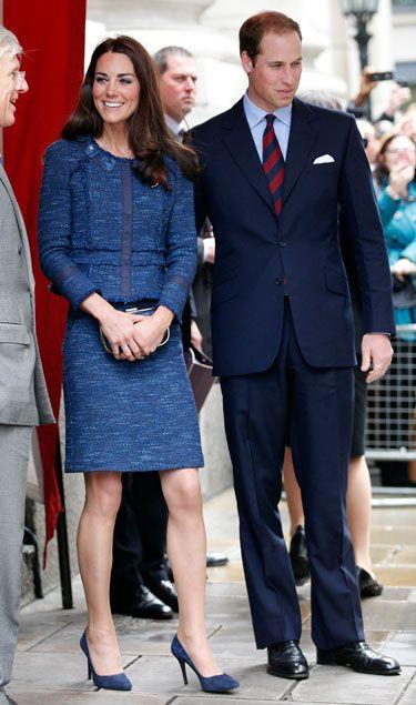Kate Middleton in Rebecca Taylor #katemiddleton #royal #princewilliam #rebeccataylor #prim