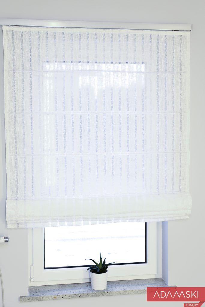 Jak Dobrac Rolety Rzymskie Aby Sluzyly Nam Na Lata Blog Firany Adamski Mama I Corka Dekoruja Wnetrza Roman Shade Curtain Interior Design Decor