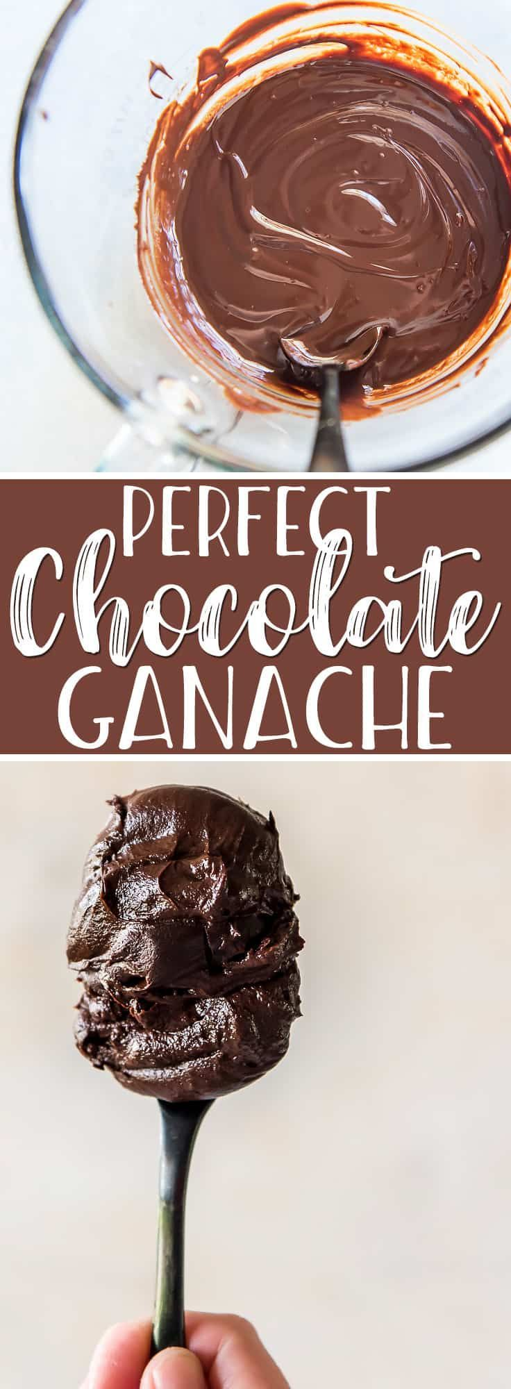 Make this 2-ingredient, 5-minute perfect chocolate ganache and you'll be pouring it over everything from cakes to ice cream sundaes! This easy, versatile recipe can also be whipped into an icing or turned into the most decadent chocolate truffles.