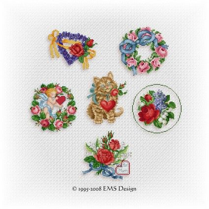 Free Patterns for Mother's Day and Valentine