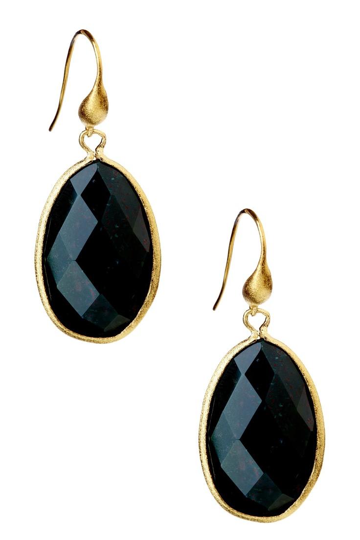 black earrings - office?
