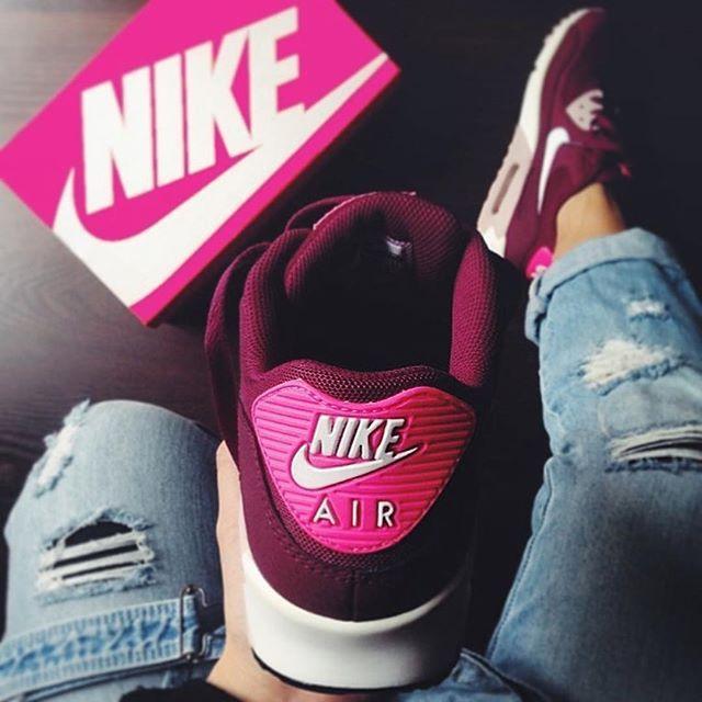 Sneakers Femme - Nike Air Max 90 Burgundy