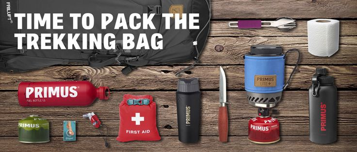 Trekking season is here and it's time to pack the backpack with your outdoor gear and clothes.