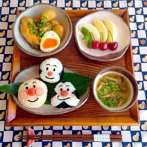 anpanman breakfast