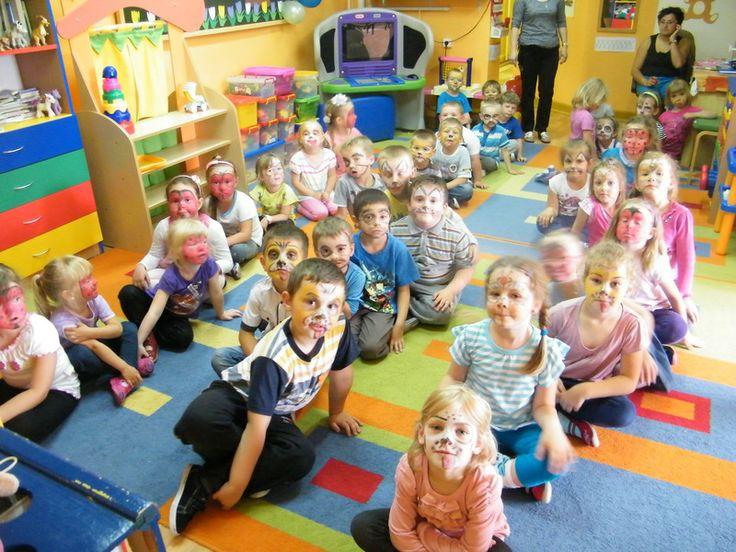 Children's Day in kindergarten - face painting