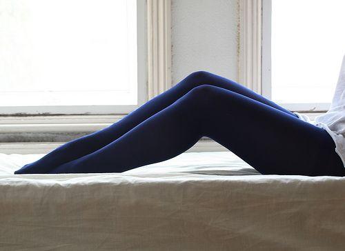 navy tights :D