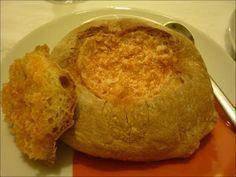 Hoje para jantar ...: Paté de Enchidos em Pão Caseiro