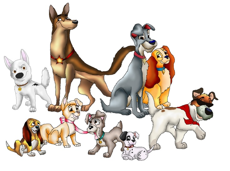 Cute Dog Names From Disney Movies