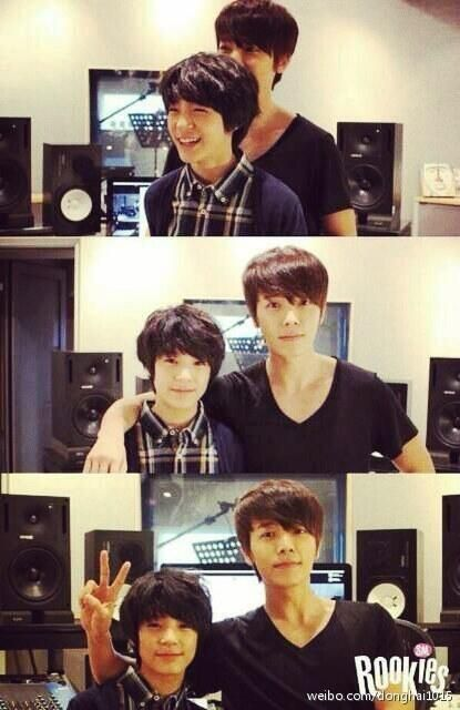 Donghae and sm rookie