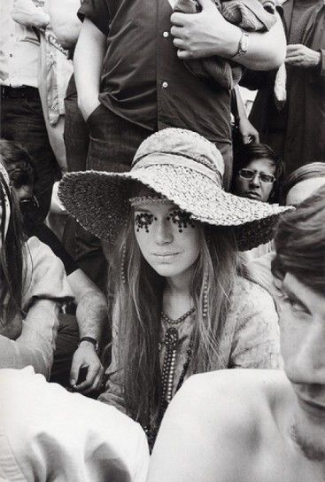 Il make up hippy anni '70  love this photo