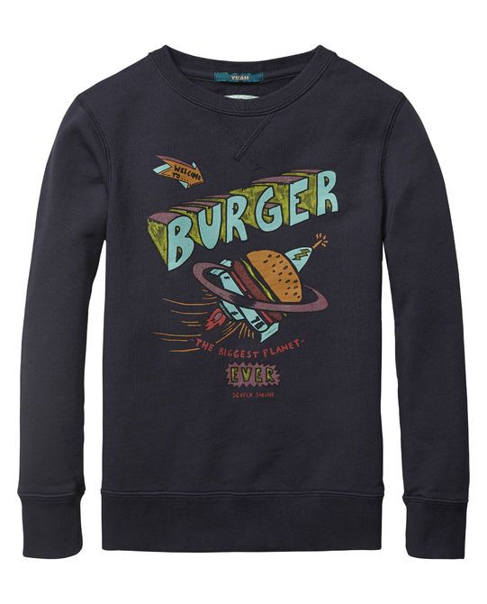 Colourful Artwork Sweater