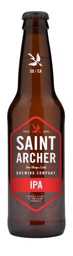 Saint Archer Brewery: IPA (6.7% ABV) when these SD surfers/skaters shoot, they don't miss. This is another fine brew from SAB. A stand up, West Coast IPA. Fully flavored and ready to win you over. I could see this becoming a regular in my fridge. Prost!