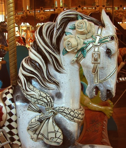 1912 Herschel-Spillman Carousel in Golden Gate Park, SF.