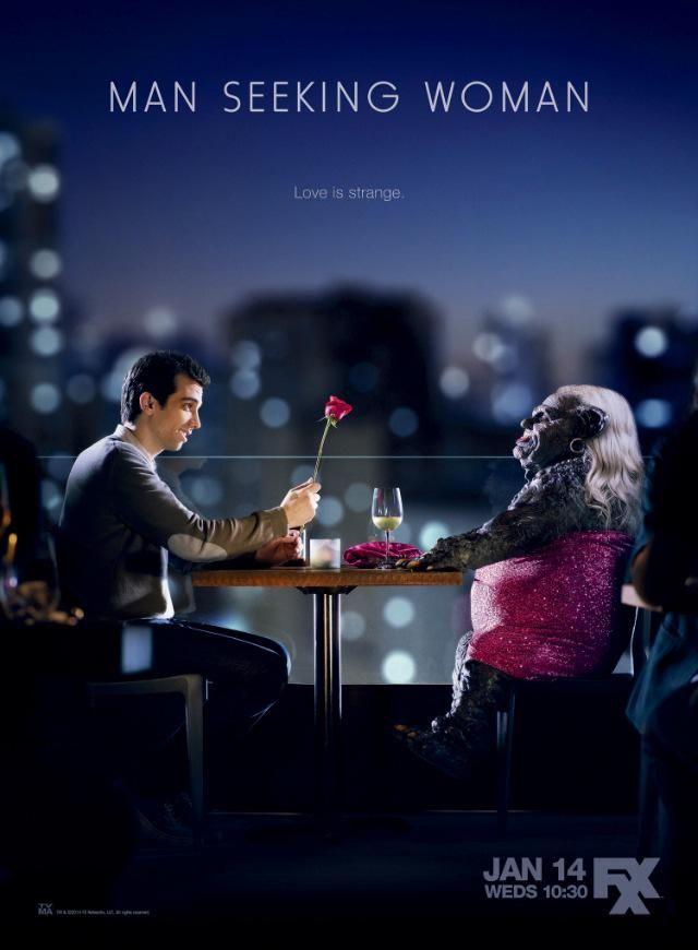 Man Seeking Woman une série TV de Simon Rich avec Jay Baruchel, Eric André. Retrouvez toutes les news, les vidéos, les photos ainsi que tous les détails sur les saisons et les épisodes de la série Man Seeking Woman