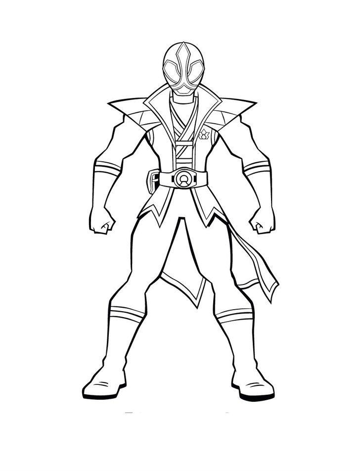 pirate power rangers coloring pages - photo#36